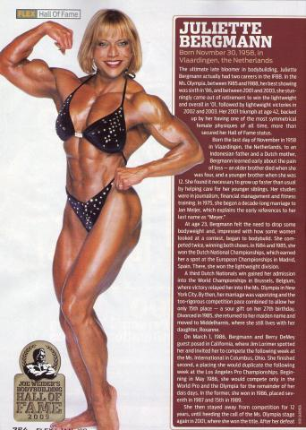 Juliette Bergmann IFBB Ms. Olympia Home
